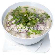 Polévka s rýžovými nudlemi